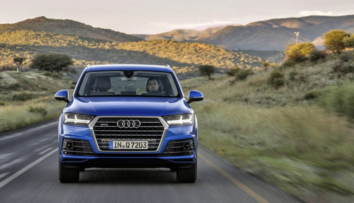 25 km/h: Audi Q7 May Have the Most Legroom in the World