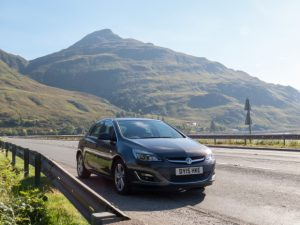 Epic Road Trip: Scottish Highlands in a Vauxhall Astra