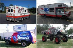 NFL Themed Cars. The Good, the Bad, and the Horrible