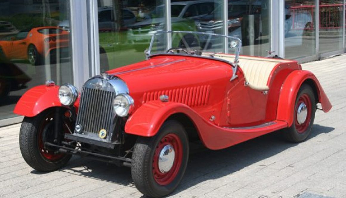 Find of the Week: 1952 Morgan Plus 4